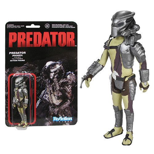 Predator Masked Predator ReAction 3 3/4-Inch Action Figure