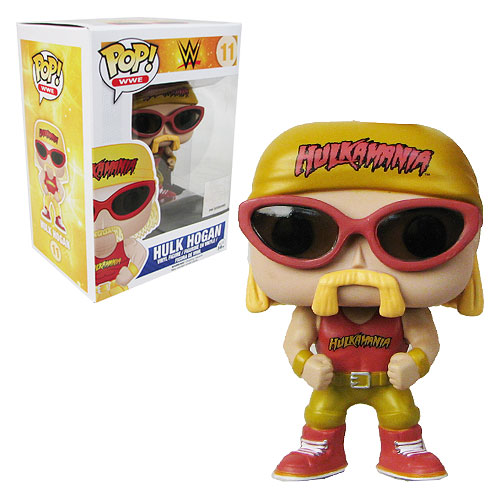 WWE Hulk Hogan Pop! Vinyl Figure
