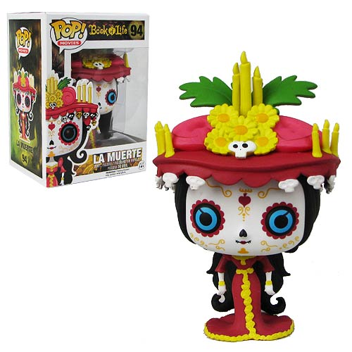 The Book of Life La Muerte Pop! Vinyl Figure