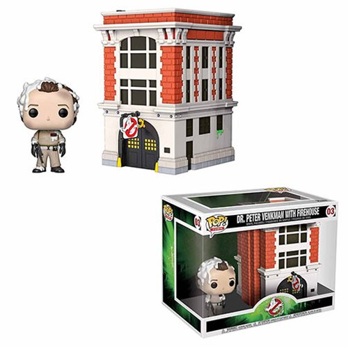Ghostbusters Peter & House Pop! Vinyl Figure Movie Moments