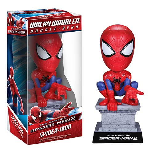 Amazing Spider-Man 2 Movie Spider-Man Bobble Head