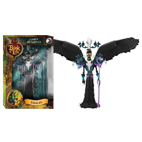 The Book of Life Xibalba Legacy Action Figure