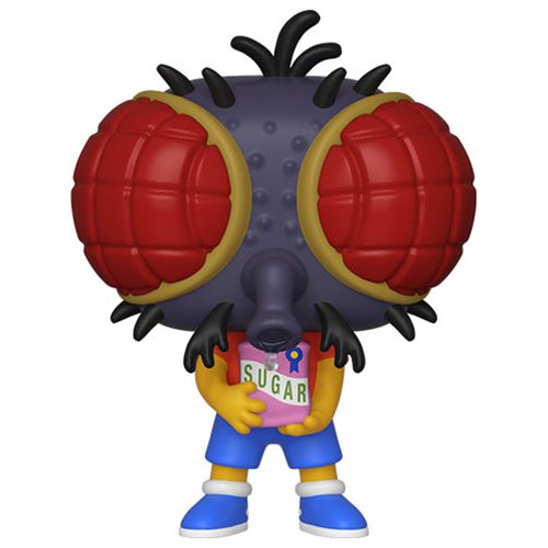 Simpsons Bart Fly Pop! Vinyl Figure, Not Mint