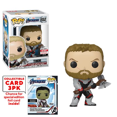 Avengers: Endgame Thor Pop! with Collector Cards - EE. Excl.