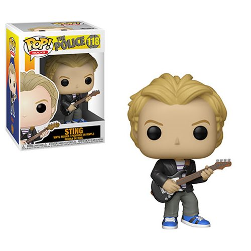 The Police Sting Pop! Vinyl Figure