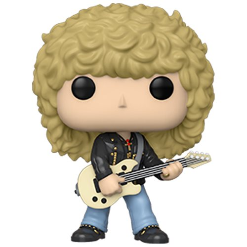 Def Leppard Rick Savage Pop! Vinyl Figure