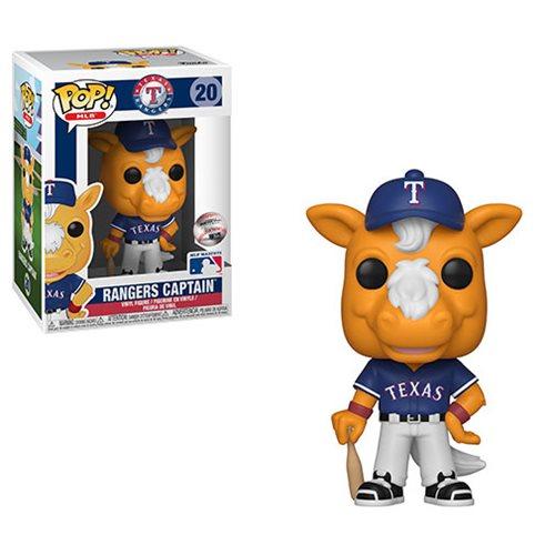 MLB Texas Ranger's Captain Pop! Vinyl Figure