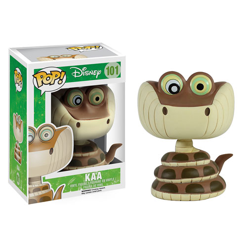 The Jungle Book Kaa Pop! Vinyl Figure