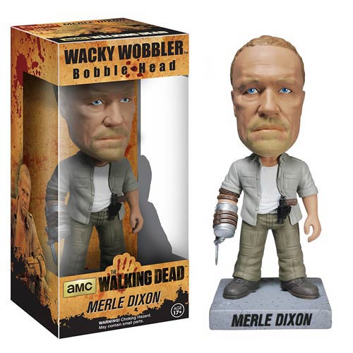 The Walking Dead Merle Dixon Bobble Head