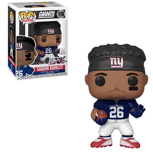 NFL Giants Saquon Barkley Pop! Vinyl Figure