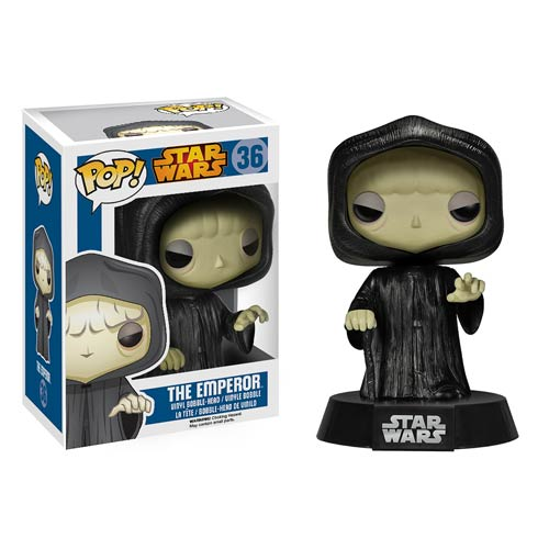 Star Wars Emperor Palpatine Pop! Vinyl Bobble Head