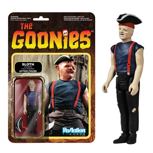 The Goonies Sloth ReAction 3 3/4-Inch Retro Action Figure