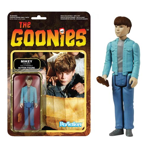 The Goonies Mikey ReAction 3 3/4-Inch Retro Action Figure