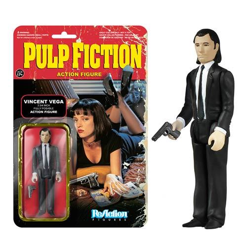 Pulp Fiction Vincent Vega ReAction 3 3/4-Inch Action Figure