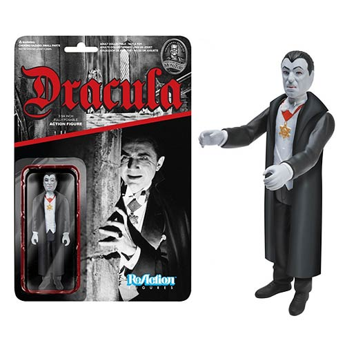 Universal Monsters Dracula ReAction 3 3/4-Inch Action Figure