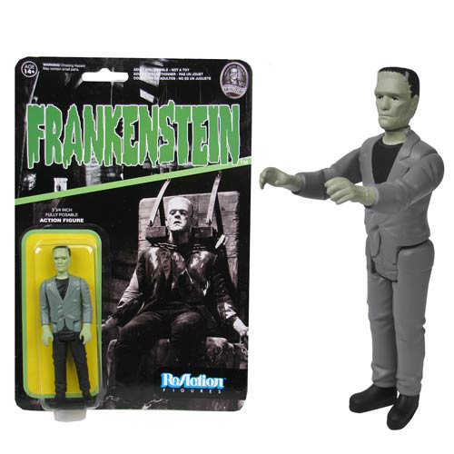 Universal Monsters Frankenstein ReAction 3 3/4-Inch Figure