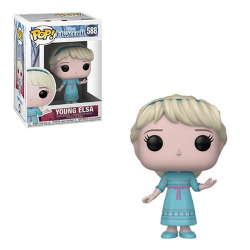 Frozen 2 Young Elsa Pop! Vinyl Figure, Not Mint