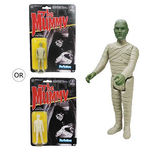 Universal Monsters Mummy ReAction 3 3/4-Inch Action Figure