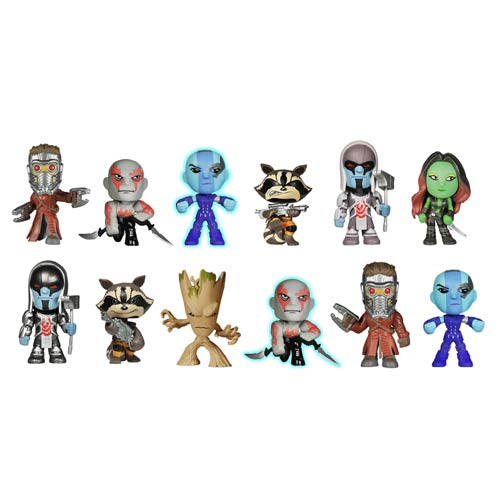 Guardians of Galaxy Mystery Mini Vinyl Figure Random 4-Pack