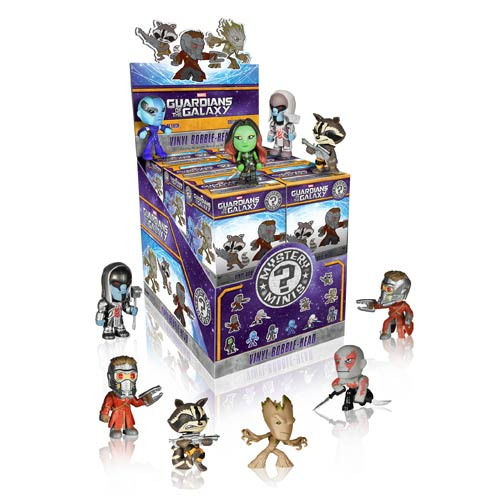 Guardians of Galaxy Mystery Mini Vinyl Figure Display Box