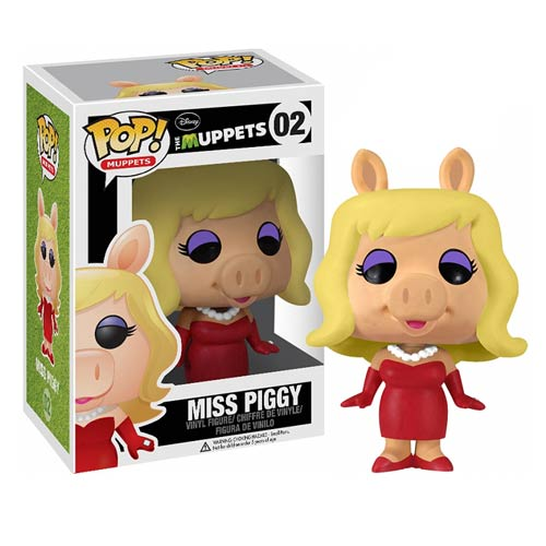 Muppets Most Wanted Miss Piggy Pop! Vinyl Figure