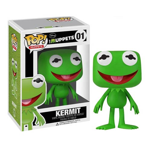 Muppets Most Wanted Kermit the Frog Pop! Vinyl Figure