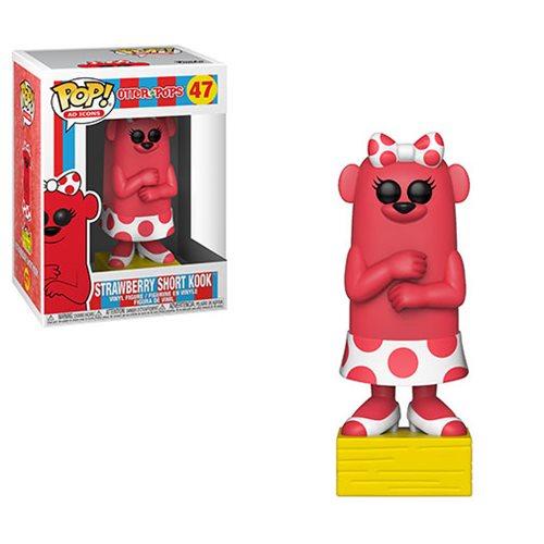 Otter Pops Strawberry Short Kook Pop! Vinyl Figure