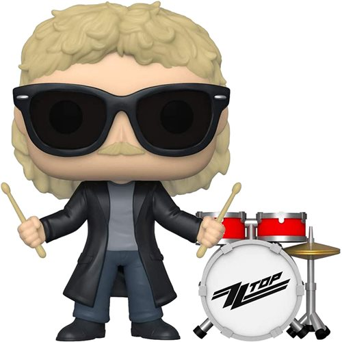 ZZ Top Frank Beard Pop! Vinyl Figure