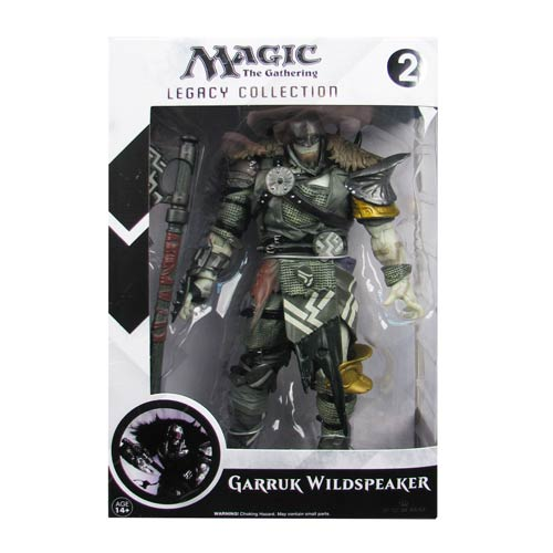 Magic The Gathering Garruk Wildspeaker Legacy Figure