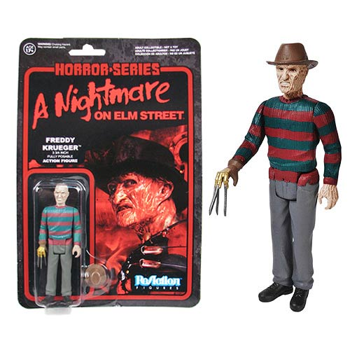 Nightmare on Elm Street Freddy Krueger ReAction Figure