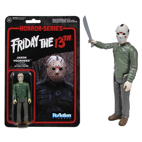 Friday the 13th Jason Voorhees ReAction 3 3/4-Inch Figure