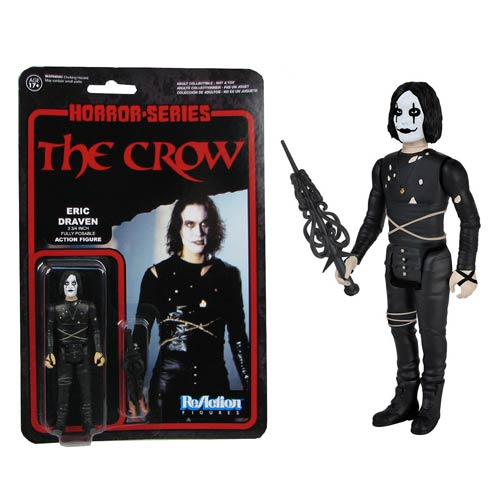 The Crow ReAction 3 3/4-Inch Retro Action Figure