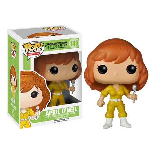Teenage Mutant Ninja Turtles April O'Neil Pop! Vinyl Figure