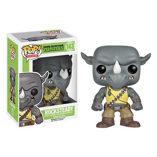 Teenage Mutant Ninja Turtles Rocksteady Pop! Vinyl Figure