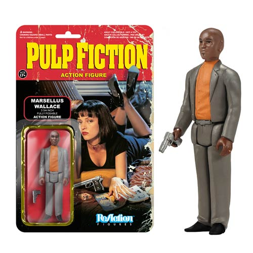Pulp Fiction Marsellus Wallace ReAction 3 3/4-Inch Retro Action Figure