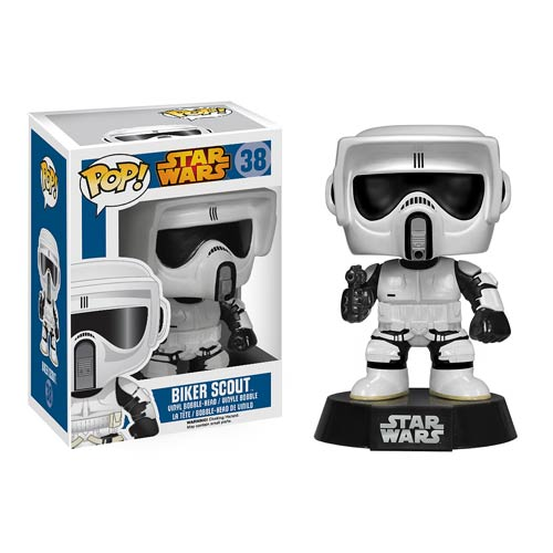 Star Wars Biker Scout Pop! Vinyl Bobble Head