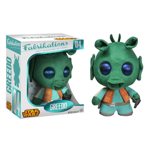 Star Wars Greedo Fabrikations Plush Figure