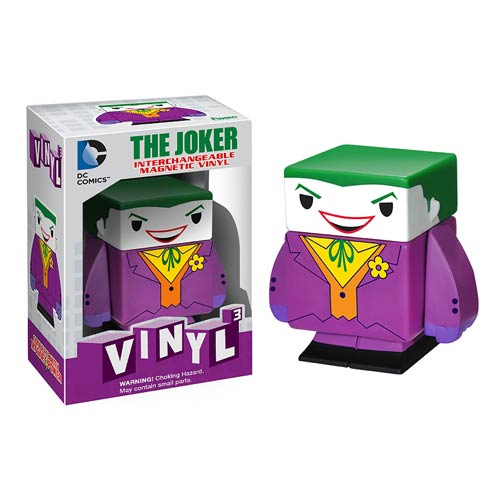 Batman Joker Interchangeable Magnetic Vinyl Cubed Figure