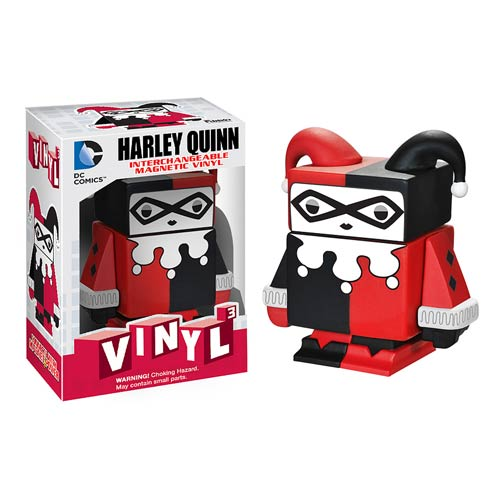 Batman Harley Quinn Interchangeable Magnetic Vinyl Figure
