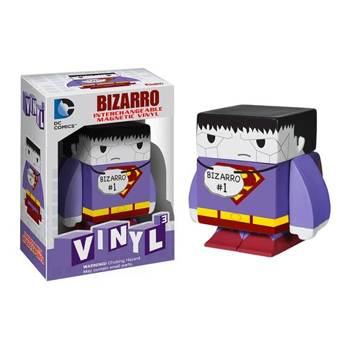 Superman Bizarro Interchangeable Magnetic Vinyl Figure