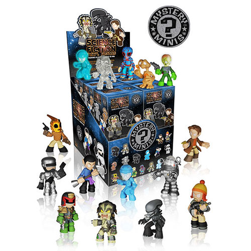 Classic Sci-Fi Mystery Mini Vinyl Figure Display Box