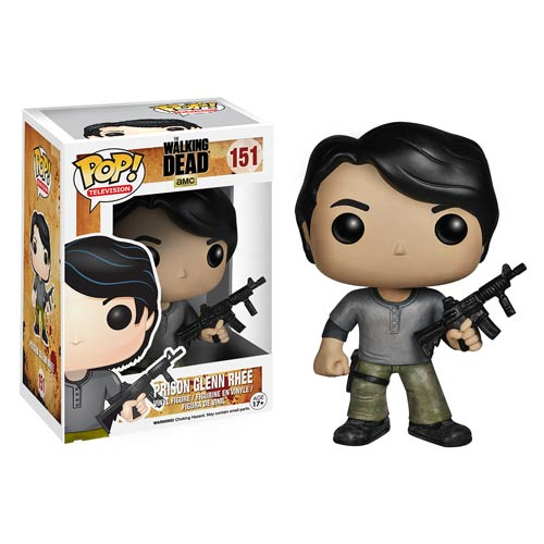 The Walking Dead Prison Glenn Pop! Vinyl Figure