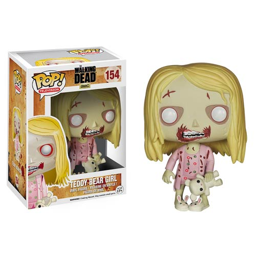 Walking Dead Teddy Bear Girl Pop! Vinyl Figure