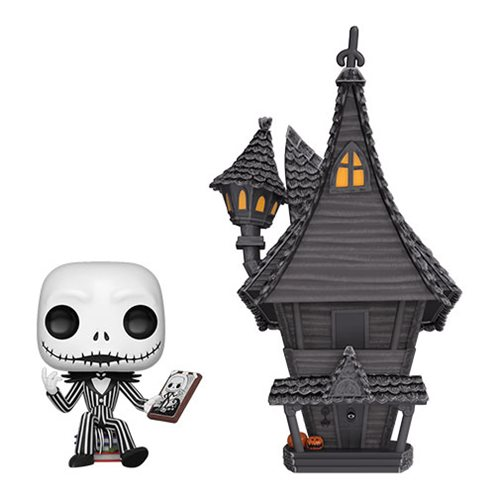 Nightmare Before Christmas Jack Skellington and House Pop! Town