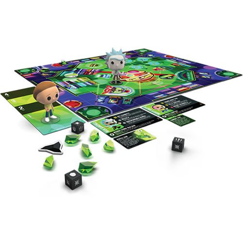 Rick and Morty Pop! Funkoverse Strategy Game Expandalone
