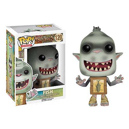 The Boxtrolls Fish Pop! Vinyl Figure