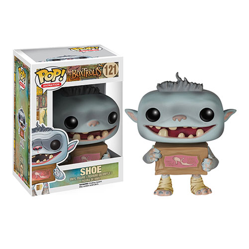 The Boxtrolls Shoe Pop! Vinyl Figure