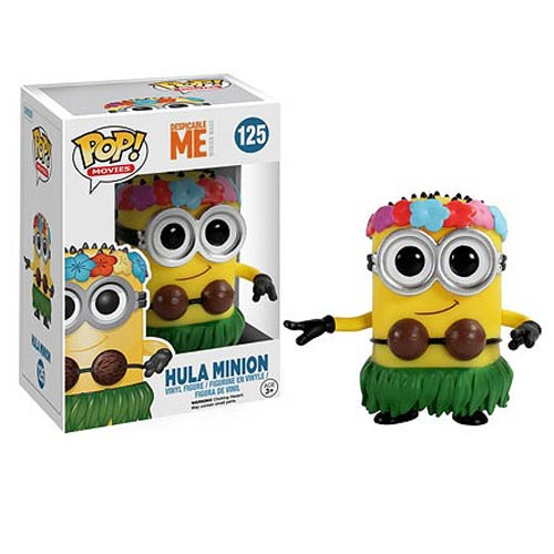 Despicable Me Movie Hula Minion Pop Vinyl Figure Funko
