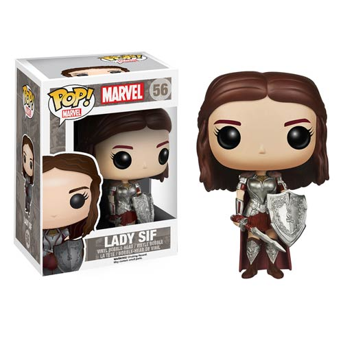Thor The Dark World Movie Lady Sif Pop! Vinyl Bobble Head