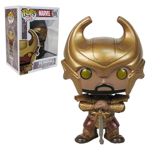 Thor Dark World Heimdall with Helmet Pop! Vinyl Bobble Head
